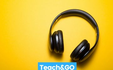 teach and go headphones