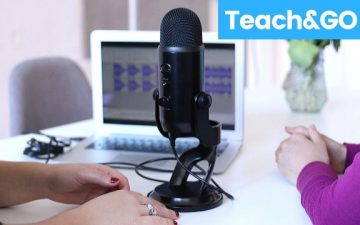 microphone online teaching