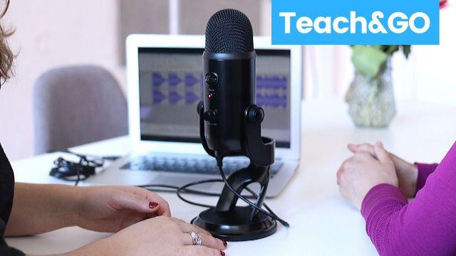 microphone online teaching