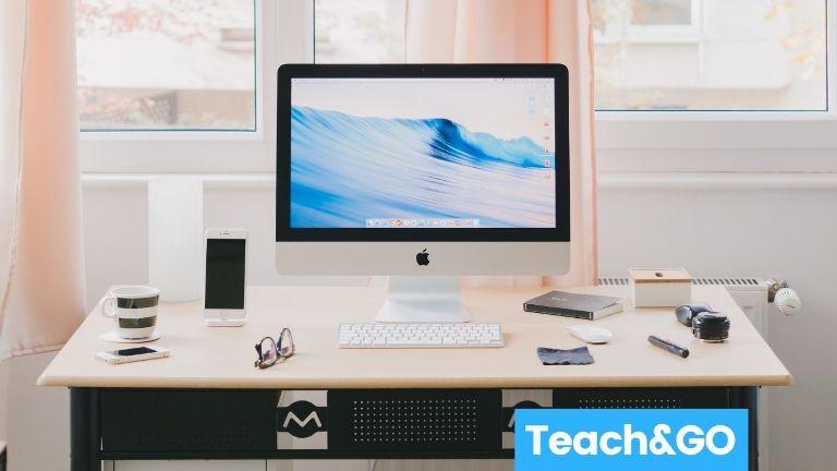 desktop computer teaching