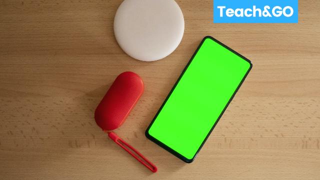 green screens teaching