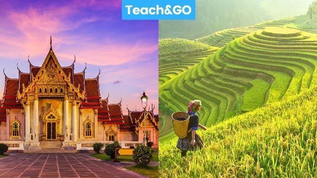 thailand vs vietnam teaching